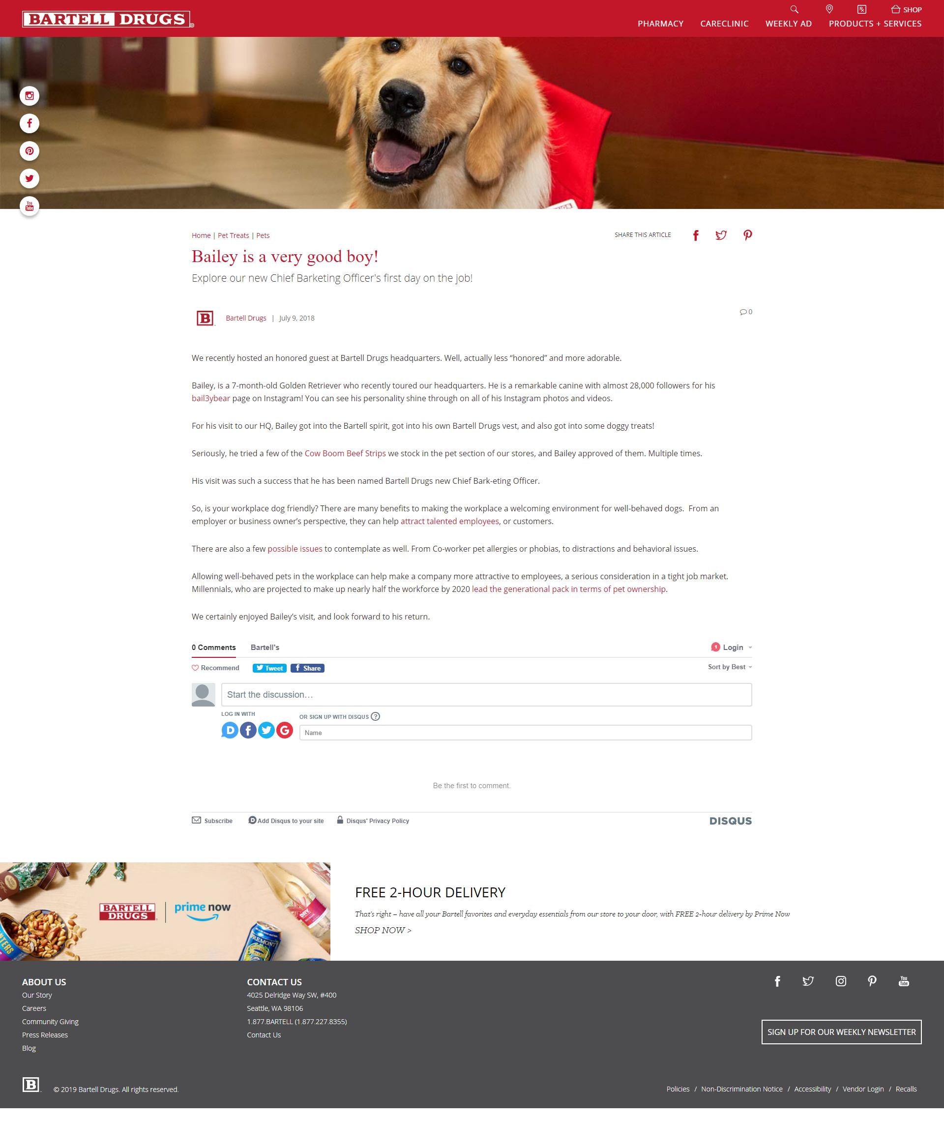 B2C Blog Content Writing